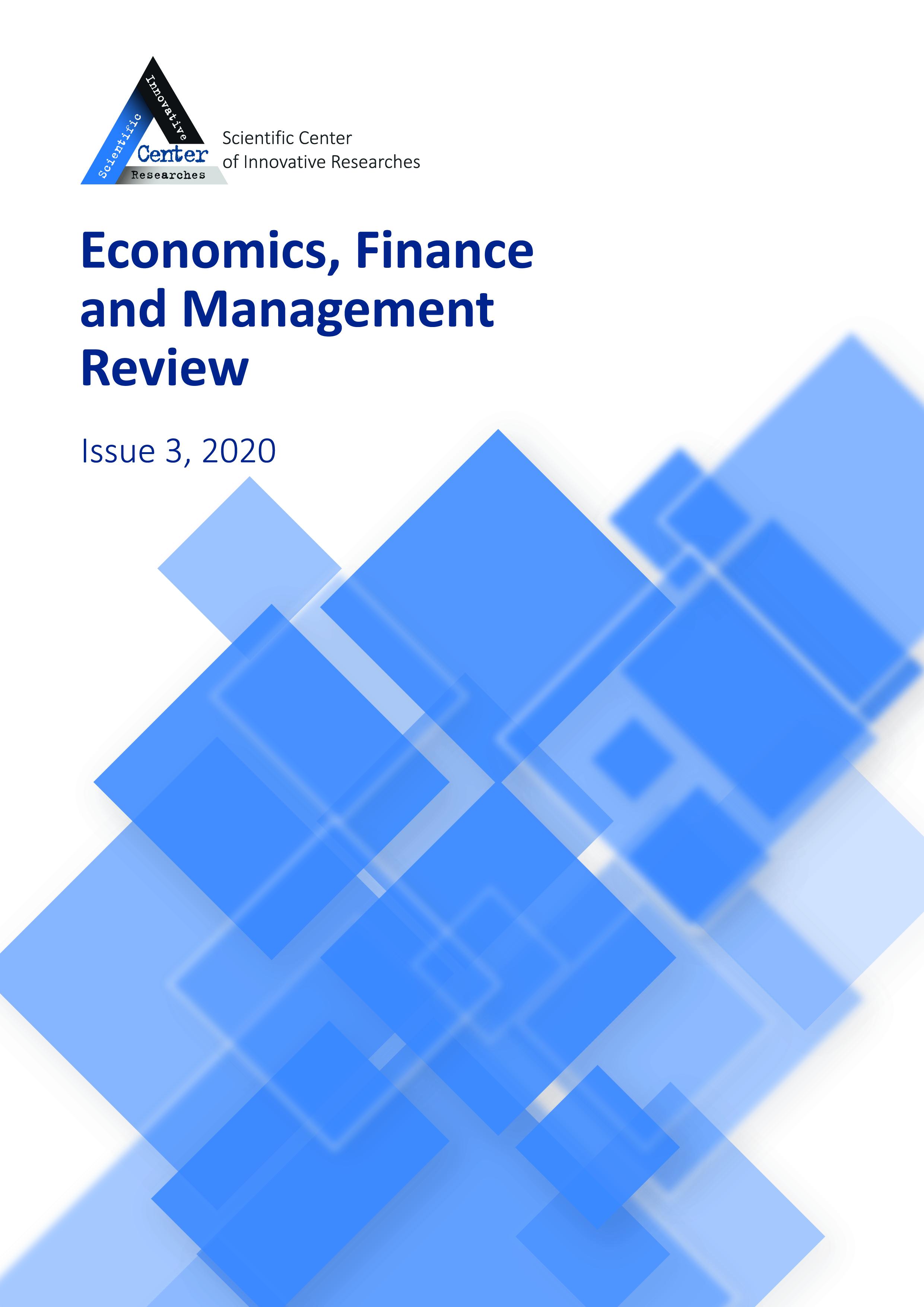 View No. 3 (2020): Economics, Finance And Management Review