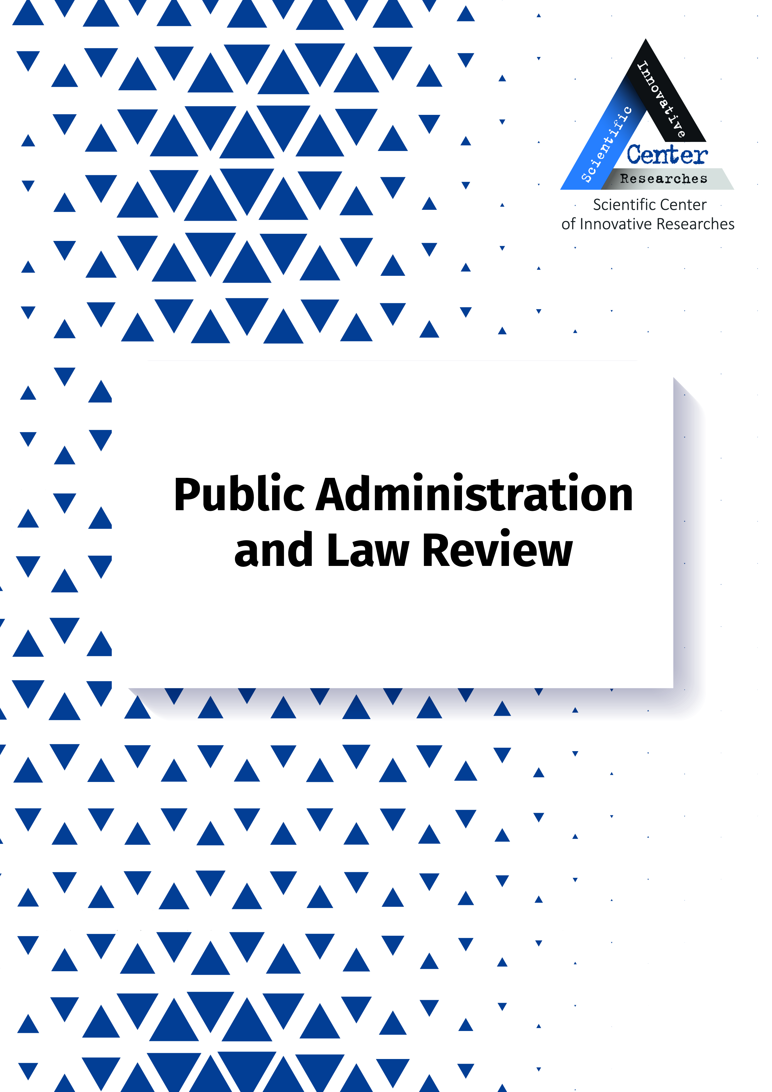 View No. 1 (2021): PUBLIC ADMINISTRATION AND LAW REVIEW